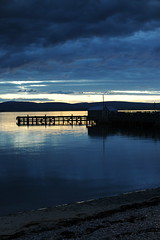 D3X_8769 (dolphinpix) Tags: cromarty oil rig oilrig night scotland sea still platform peace peaceful dark late evening water ocean harbour boat ship britain greatbritain filter long peter peterasprey dolphinpix magic twilight blackisle black grey blue