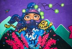 Colourful Ninja (Diego_Valdivia) Tags: mural arte urbano urban art bajada baños barranco lima peru canon eos 60d colourful ninja multicolor