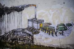 Рабочая атмосфера стабільності (ПредоК) Tags: belarus art street streetart illustration design branding wall mural urbanart urban people
