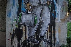 successful guy (ПредоК) Tags: people urban urbanart mural wall branding design illustration streetart street art belarus wood