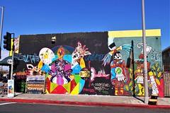 Latin Mural, S. Los Angeles