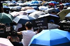 Protest against China (kau10082) Tags: taiwan hongkong protest march