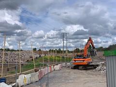 Construction Work (firehouse.ie) Tags: development developing developers ennis ireland n85 work zone buildingsite site rockbreaker machinery machine construction