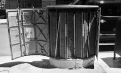 Bridge Street (neilsonabeel) Tags: nikonfm2 nikon nikkor blackandwhite film analogue brooklyn newyorkcity