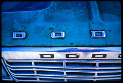 32_Dodge_Truck_Text_Eastsound_Orcas_Island (Lather and Froth) Tags: text