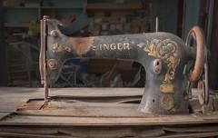 Sew many Singers. (Ewski Images) Tags: rural rurex sony antique classic classics vintage explore sewing singer sewingmachine exploration abandonedplaces abandoned decay