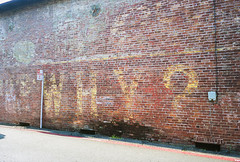 27_Why_Text_Graffiti_Sutter_Creek_California (Lather and Froth) Tags: text