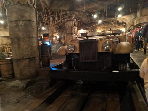 Jeep 2, Indiana Jones with the lights on, Disneyland, Anaheim, California