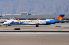 Allegiant Air - McDonnell Douglas (Douglas) MD-83 (DC-9-83) - N421NV  - McCarran International Airport (LAS) - Las Vegas - September 23, 2013 1 135 RT CRP (TVL1970) Tags: nikon nikond90 d90 nikongp1 gp1 geotagged nikkor70300mmvr 70300mmvr aviation airplane aircraft airliners mccarraninternationalairport mccarranairport mccarran mccarraninternational lasvegas las klas n421nv allegiantair allegiant oykhr scandinavianairlinessystem scandinavianairlines sas torkildviking mcdonnelldouglas douglasaircraft douglasaircraftcompany dac douglasdc9 douglas dc9 mcdonnelldouglasmd81 dc981 super81 mcdonnelldouglasmd82 dc982 md82 super80 super82 mcdonnelldouglasmd83 dc983 md83 md80 super83 maddog prattwhitney prattwhitneyjt8d pwjt8d pw jt8d jt8d219
