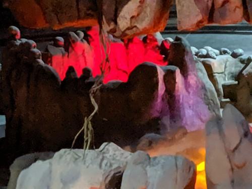 Caldera, Indiana Jones with the lights on, Disneyland, Anaheim, California