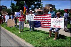 Impeachment Protest, Kansas City, June 16, 2019 (Maggie Osterberg) Tags: ricoh gr ricohgr maggieo kansascity missouri politics protest impeachtrump rally unitedstates colorefexpro4 grlens