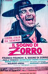 11_Il_Sogno_di_Zorro_Poster_Venice_Italy (Lather and Froth) Tags: text