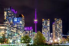 CN Tower, Toronto (runfleti2) Tags: longexposure colorful tower city nightphotography nikonphotography nikonphoto nikon