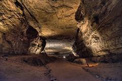 Audubon Avenue and a Giant Canyon Passage (Mammoth Cave National Park) (thor_mark ) Tags: appalachianmountains appalachianplateaus audubonavenue aurorahdr aurorahdrpro azimuth229 capturenx2edited caveceiling cavewalls centralcumberlandplateau colorefexpro cumberlandplateau day5 giantcanyonpassage hdr inside internationalbiospherereserve landscape mammothcavenationalpark mammothpassagetour nature nikond800e project365 singleimagehdr travel triptogatewaymammothcuyahoganationalparks worldheritagesite kentucky unitedstates