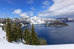 Winter Palette (csquags) Tags: findyourpark optoutside nationalparkservice travel oregon traveloregon oregonexplored exploreoregon exploregon pnw pnwonderland pnwlife pacificnorthwest pnwcollective craterlake craterlakenationalpark crater lake