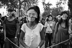 (kathrynmweenig) Tags: protest street spain sevilla seville
