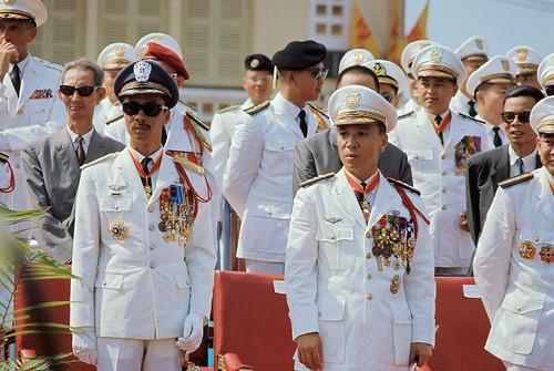 Portrait of Nguyen Cao Ky and Nguyen Van Thieu