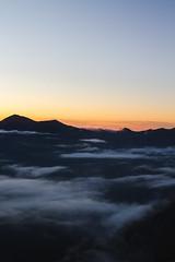 Buckhorn Pass (gmolteni) Tags: washington pnw mountains mountain fog sunset national park nps olympics