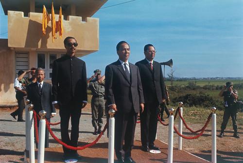 1969 - Nguyen Van Thieu and Cao Ky at Ceremonies