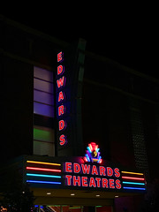 Edwards Theatres Boise (ahockley) Tags: afterdark boise edwardstheatres idaho movies movietheater neon neonsign night nine signs theater