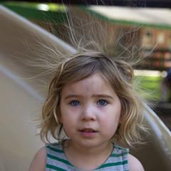 Hair-Raising! (milfodd) Tags: june 2019 potdjune8th2019 phaedra fay playground hair static