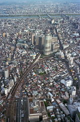 Bird's eye (DoveVadar) Tags: contaxt2 ektar100 film japan tokyo skytree