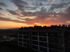 Dawn (Coffeemonsster) Tags: sky sun clouds sunrise scarlet landscape dawn himmel wolken landschaft sonne sonnenaufgang bulut gökyüzü manzara güneş gündoğumu şafak kızıl scharlach şafakvakti iphoto iphotography iphonography iphone6 shotoniphone