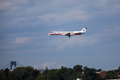 American Eagle (Envoy Air) Embraer ERJ-135 (wanderinginsomnia) Tags: embraers usa lgaairport newyorkcity embraererj135s newyork queens flushingbaypromenade envoyair americanairlines airplanes