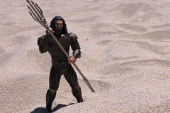 Sand (misterperturbed) Tags: oceancitymd oceancity atlanticocean aquaman dceu arthurcurry jasonmamoa beach one12collective mezco mezcoone12collective dccomics justiceleague