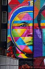 Part of Largest Wall Mural In NYC (sjnnyny) Tags: nyc mural streetart d7500 micronikkoraf5528 stevenj sjnnyny wallpainting eduardokobra urbanart immigrant