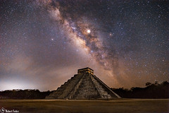 Milky Way over Pyramid of the Feathered Serpent (swap_82) Tags: ifttt nasa