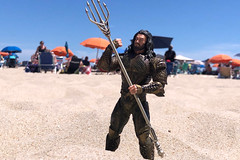 Beach (misterperturbed) Tags: oceancitymd oceancity atlanticocean aquaman dceu arthurcurry jasonmamoa beach one12collective mezco mezcoone12collective dccomics justiceleague