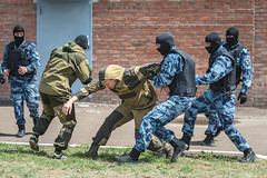 Arrest of marauders (petr.petrov) Tags: police arrest security isolated defending special forces army soldier marauder rescue training robber burglar
