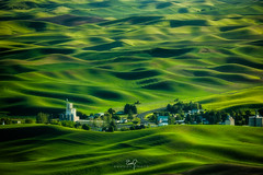 Palouse Town (ernogy) Tags: palouse farm washington steptoebutte hills loess town shadows rollinghills wheat landscape canon sony nikon 400mm 100mm400mm zoom