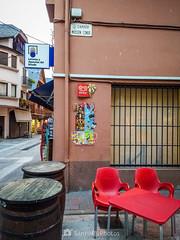 El racó del mossen (SantiMB.Photos) Tags: 2blog 2tumblr 2ig bossòst valldaran lleida pirineos motog3 móvil calle street bar otoño autumn geo:lat=4278483292 geo:lon=069196081 geotagged bossost cataluna españa