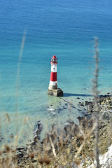 Beachy Head lighthouse (Pixelkids) Tags: lighthouse beachyhead beachyheadlighthouse sea england eastsussex sevensisters