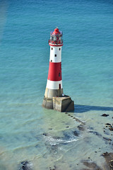 Beach Head lighthouse (Pixelkids) Tags: lighthouse beachyhead beachyheadlighthouse sea england eastsussex sevensisters