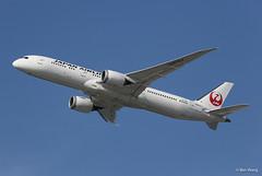 JAL 787-9 Dreamliner JA870J (bswang) Tags: b789 ja870j jal sfo jal8001