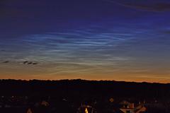 Noctilucent Clouds (Deutscher Wetterdienst (DWD)) Tags: himmel sky weather wetter wolken clouds nlc leuchtendenachtwolken noctilucentclouds optischeerscheinungen opticalphenomena nacht night
