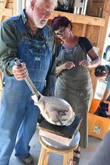 "Baker County Tourism – www.travelbakercounty.com 52453 (TravelBakerCounty) Tags: travelbakercounty oregon ""easternoregon"" ""bakercountytourism"" basecampbaker ""basecampbaker"" art artists ""bakercity"" studio ""studiotour"" ""arttours"" visitbaker artiststudiotour artistsinaction tourism culturaltourism artstourismtravelusatraveloregonmeetthemakersceramicart pottery ceramics raku"