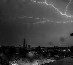 DSC_6049_bw (Christin-BildinGrau) Tags: nightphotography blackandwhite night strike lightning blitz thunder lightningstrike blackandwhitephotography sturm bildingrauphotography bildingrau christinbildingrau