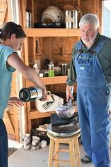 "Baker County Tourism – www.travelbakercounty.com 52445 (TravelBakerCounty) Tags: travelbakercounty oregon ""easternoregon"" ""bakercountytourism"" basecampbaker ""basecampbaker"" art artists ""bakercity"" studio ""studiotour"" ""arttours"" visitbaker artiststudiotour artistsinaction tourism culturaltourism artstourismtravelusatraveloregonmeetthemakersceramicart pottery ceramics raku"