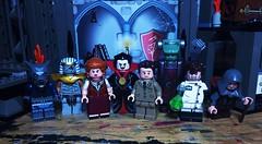 Studios: Monsters (Lord Allo) Tags: lego studios monsters frankenstein dracula werewolf wolfman hunchback igor doctor jekyll mister hyde mad scientist