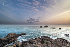 End of the day at Corbiere. (miketonge) Tags: corbiere corbierelighthouse corbierepoint jersey channelislands rocks sea seascape sunset dusk miketongephotographycouk nikon d850 1424 nisi filters