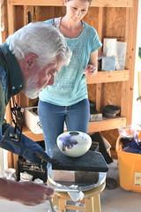 "Baker County Tourism – www.travelbakercounty.com 52448 (TravelBakerCounty) Tags: travelbakercounty oregon ""easternoregon"" ""bakercountytourism"" basecampbaker ""basecampbaker"" art artists ""bakercity"" studio ""studiotour"" ""arttours"" visitbaker artiststudiotour artistsinaction tourism culturaltourism artstourismtravelusatraveloregonmeetthemakersceramicart pottery ceramics raku"