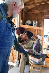 "Baker County Tourism – www.travelbakercounty.com 52450 (TravelBakerCounty) Tags: travelbakercounty oregon ""easternoregon"" ""bakercountytourism"" basecampbaker ""basecampbaker"" art artists ""bakercity"" studio ""studiotour"" ""arttours"" visitbaker artiststudiotour artistsinaction tourism culturaltourism artstourismtravelusatraveloregonmeetthemakersceramicart pottery ceramics raku"