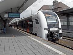 Der neue RRX Koblenz - Wesel (RE5) (onnola) Tags: deutschland germany bahn deutschebahn db bahnhof station gleis track zug train eisenbahn railway regionalbahn regionaltrain rheinruhrexpress rrx re re5 regionalexpress rheinexpress