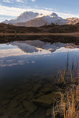 Laghetto alpino (cesco.pb) Tags: simplonpass simplon passodelsempione switzerland svizzera hopschesee fletschhorn alps alpi canon canoneos60d tamronsp1750mmf28xrdiiivcld alba dawn