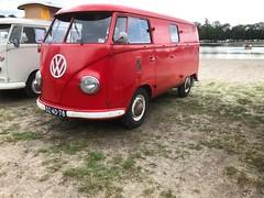 """PJ-26-30 & DZ-40-78 Volkswagen Transporter bestelwagen 1955 """"Brandweer Den Ilp"""" (Wouter Duijndam) Tags: dz4078 volkswagen transporter bestelwagen 1956 brandweer ilpendam waterland dubbeldeur pj2630"""
