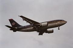 F-ODVH A310 Royal Jordanian LHR 19-06-93 (cvtperson) Tags: fodvh a310 royal jordanian london heathrow lhr egll